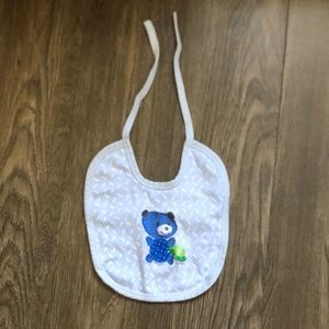 3 for $15 • Blue baby bib
